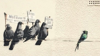 Why Is Banksy the Only Person Allowed to Vandalize Britain's Walls?