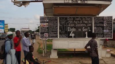 Je wil op dit moment geen lijkschouwer in Liberia zijn