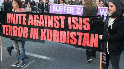 London's Kurds Marched to Convince the World to Save Their Homeland from the Islamic State