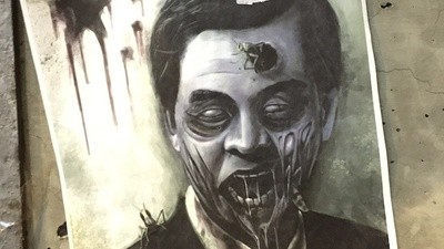 Hong Kong's Protest Art Is a Blend of Wolves, Umbrellas, Dicks, and Zombies