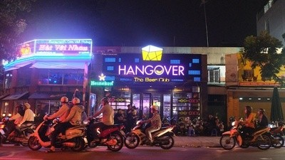 Vietnam Has a 'Hangover' Themed Bar and a Binge-Drinking Problem