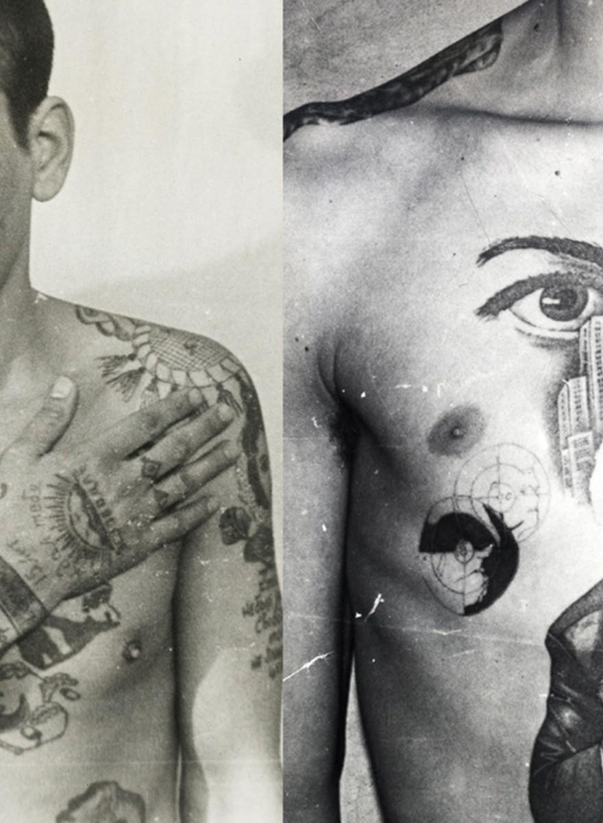 El lenguaje secreto de los tatuajes en las cárceles soviéticas