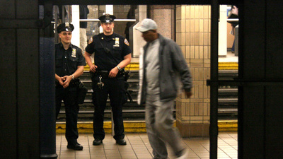 Exclusive Video: Did the NYPD Really Need to Pepper-Spray a Guy Waiting for the Train?