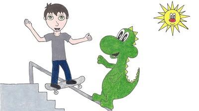 Skateboarding Helped Jim Bates Battle Depression