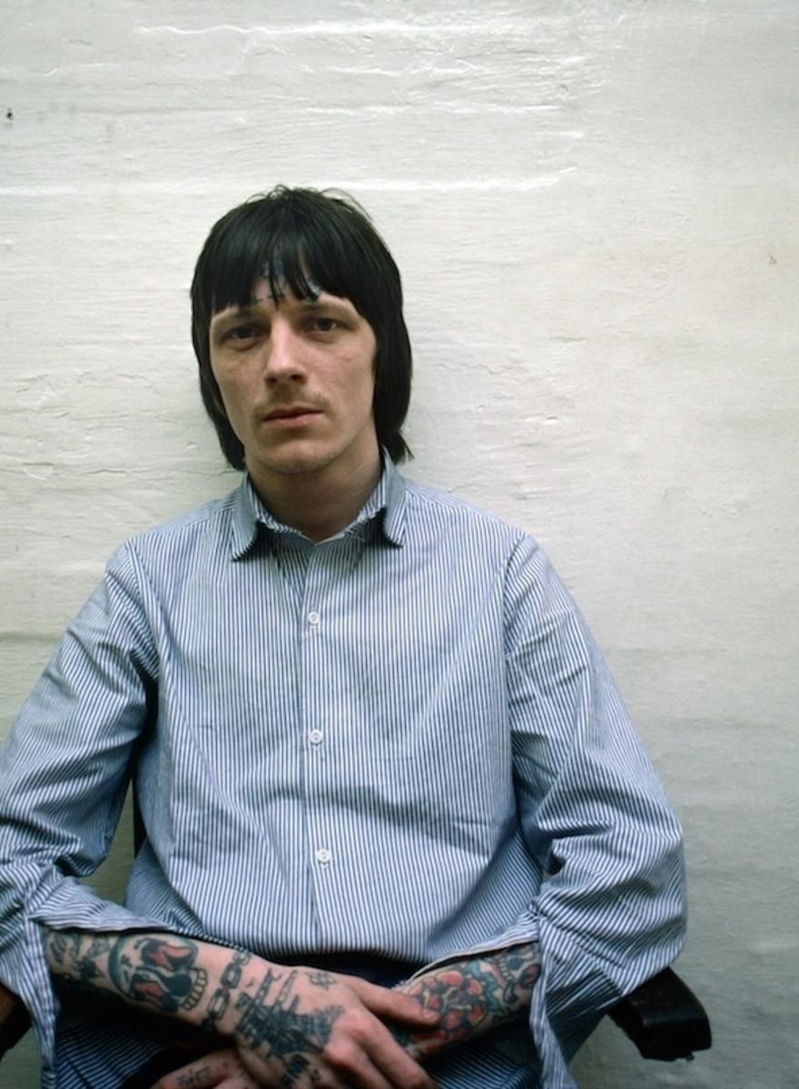 Foto da una delle più note prigioni inglesi degli anni Ottanta