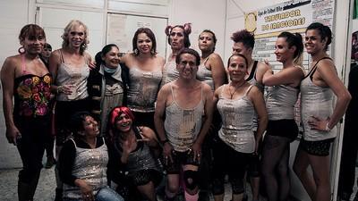 Jugué un partido de futbol contra Las Gardenias, el equipo de travestis de Tepito