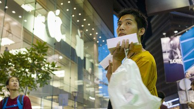 O mercado de revenda de iPhones