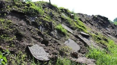 La ciudad que se construyó con lápidas de judíos