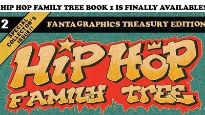 The Creator of 'Hip Hop Family Tree' Talks Rap History and Comics