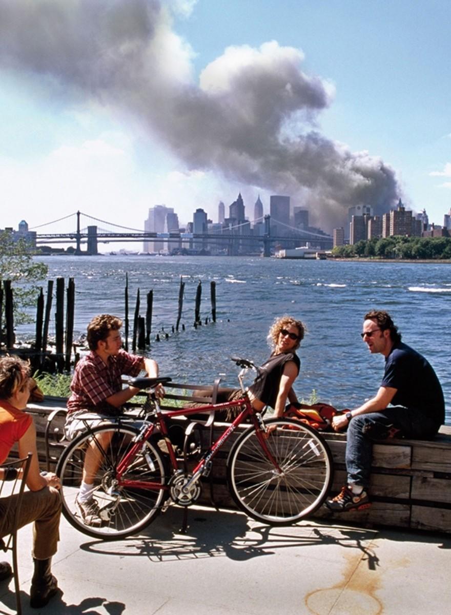 Wie Thomas Höpker eines der berühmtesten 9/11-Bilder machte