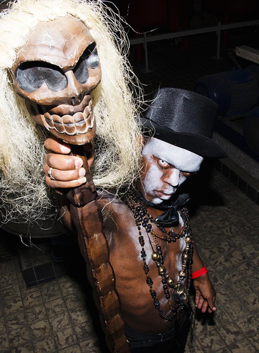 Een angstaanjagende Halloween in PIP