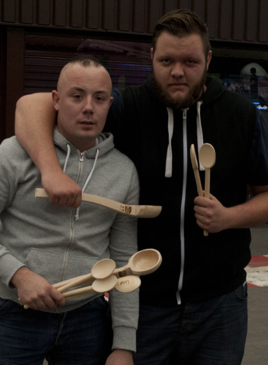 The French Custom of Throwing Wooden Spoons at People