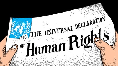 The Declaration of No Human Rights