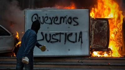 In Mexico zijn rellen uitgebroken over de dood van meer dan veertig studenten