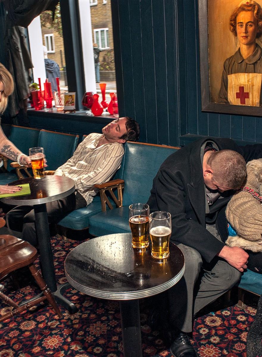 De diva's en dronkenlappen van Shoreditch