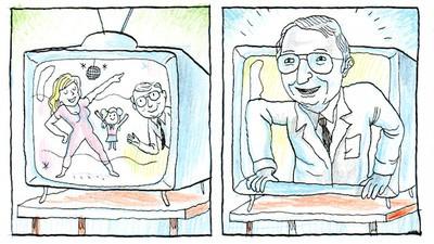 La tv visionaria di Enzo Trapani
