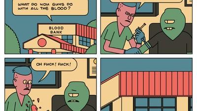 Owen Wilson Sells Blood for Ramen Money