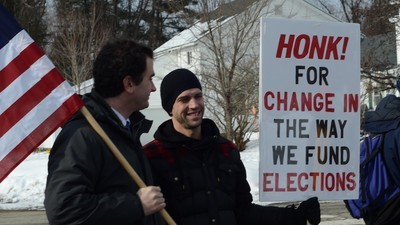 The New Hampshire Voters Marching in the Freezing Cold to Get Money Out of Politics