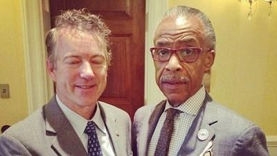 The Bizarre Alliance of Rand Paul and Al Sharpton