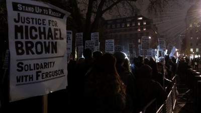 Londoners Are Protesting Against the Ferguson Decision Right Now
