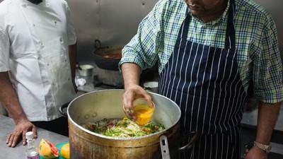 Cocinamos el plato favorito de un preso de Guantánamo en un reconocido restaurante de Londres
