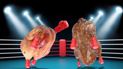 Der Kampf der Geflügel-Giganten: Truthahn vs. Gansl
