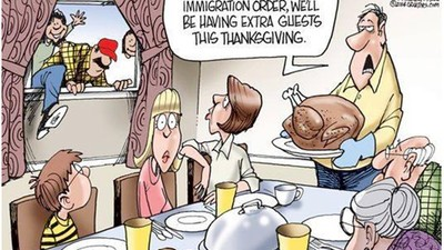 Thanksgiving Is the Least Racist Holiday America Have