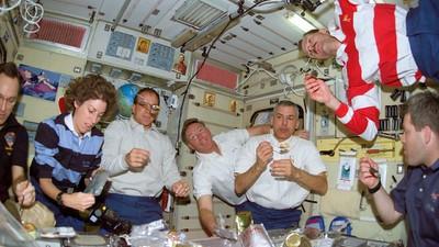 Les astronautes aussi ont le droit de bien manger