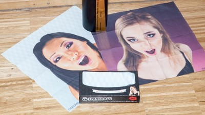 Are Tissues Decorated with the Faces of Sexy Girls the Future of Masturbation?