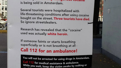 America Loves This Dutch Cocaine Warning Sign