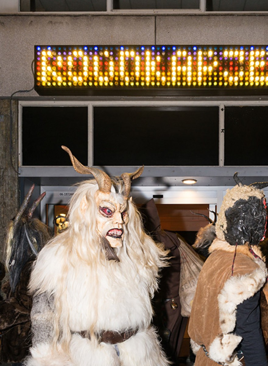In Rotterdam won Krampus het dit weekend ruim van Zwarte Piet
