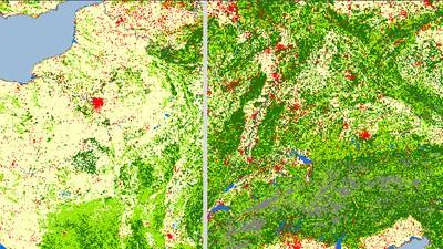 Er is nu veel meer bos in Europa dan 100 jaar geleden
