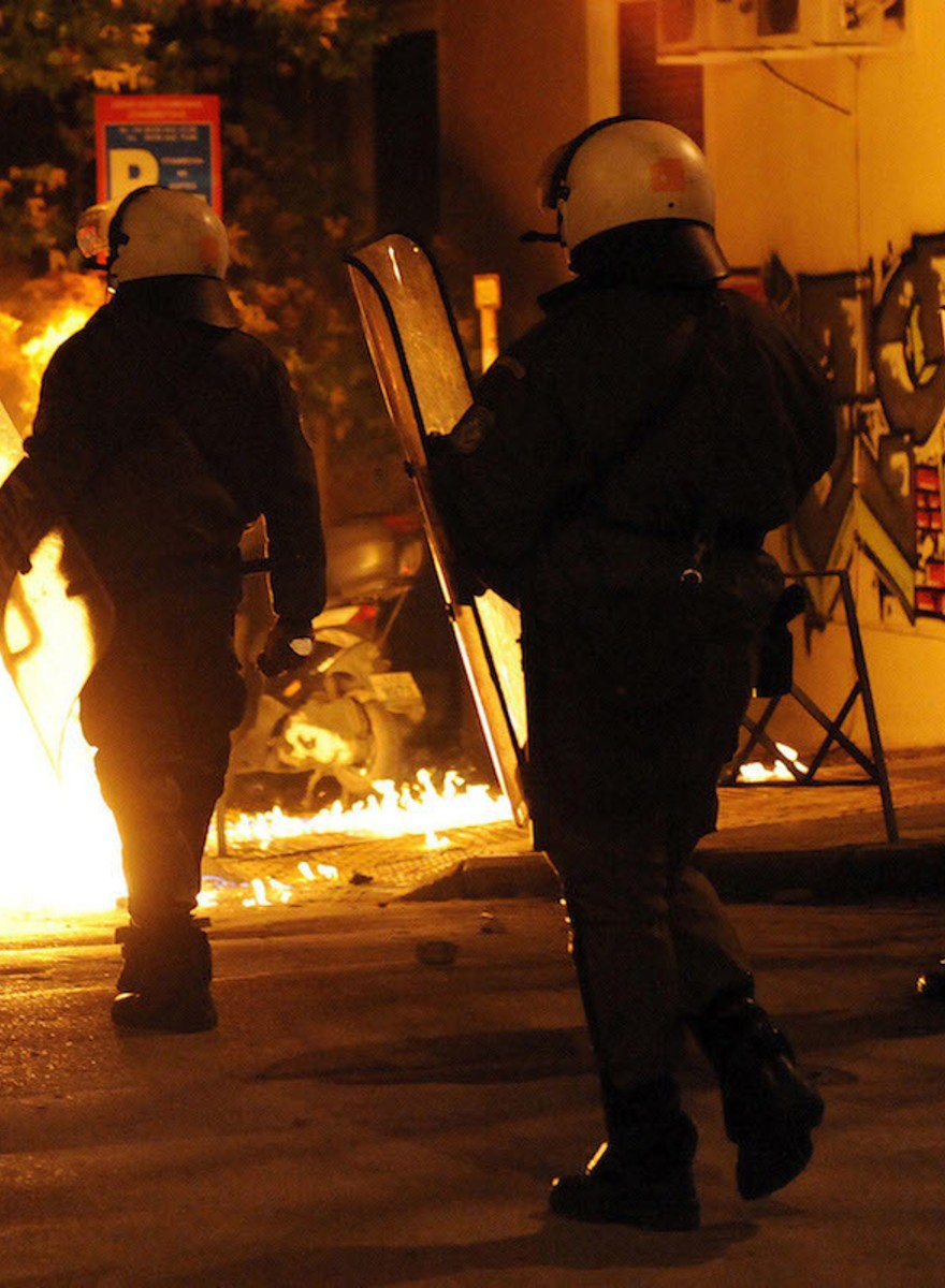 Greece Exploded in Riots This Weekend