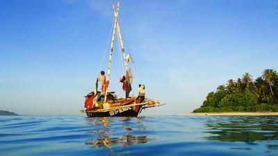 Die Meer-Nomaden mit der autarken Jute-Arche-Noah