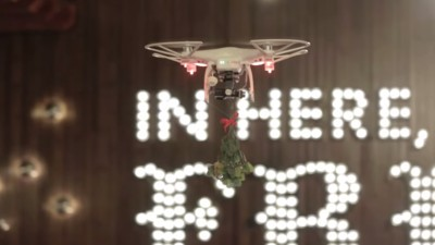 A TGI Friday's Mistletoe Drone Crashed into a Photographer's Face