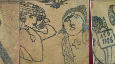 Tatuajele româneşti din secolul 19 sunt morbid de frumoase