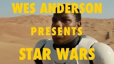 Se o Wes Anderson fizesse a guerra das estrelas seria assim