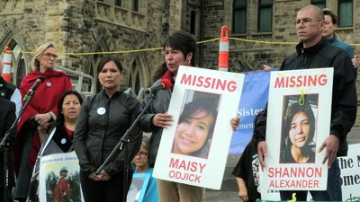 The Teenager Calling for an Inquiry into Canada's Missing and Murdered Aboriginal Women
