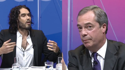Russell Brand vs Nigel Farage: How They Ranked On Last Night's 'Question Time'
