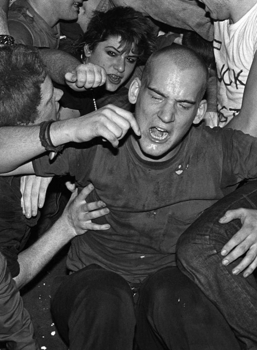 Jim Saah hat die Blütezeit des Hardcore-Punk fotografiert