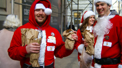 This Year's SantaCon Was a Jolly Disgrace