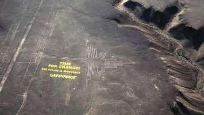 Fracaso de Greenpeace en las Líneas de Nazca