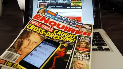 Why Does the 'National Enquirer' Suck at the Internet?