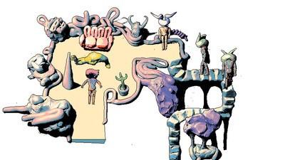 Mason Lindorth juega con pixeles y plastilina derretida