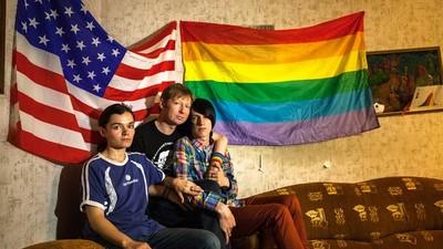 Jung und queer in Russland