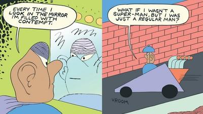 Vigilante in 'Now I'm Just a Regular Man'