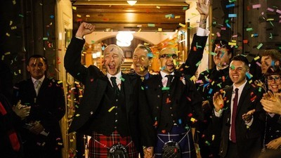 I Went to Scotland's First Gay Wedding