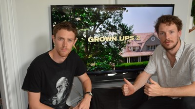 Meet the Two Guys Who Are Doomed to Watch 'Grown Ups 2' for Eternity