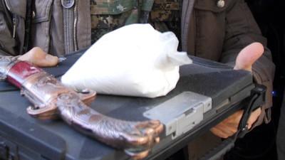 Mogelijk cocaïne gevonden in het huis van een leider van de Islamitische Staat