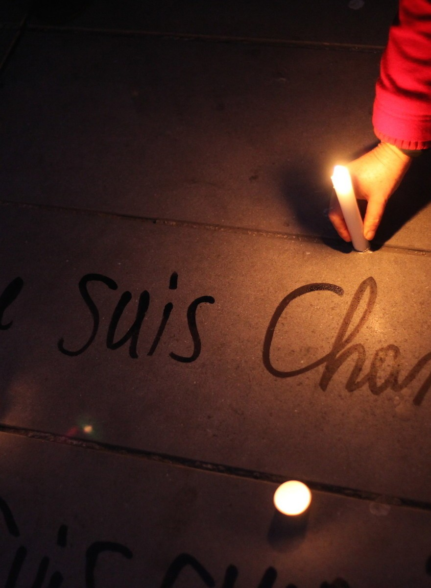 """""""Wir haben keine Angst""""—Paris trauert um die Zeichner von Charlie Hebdo"""
